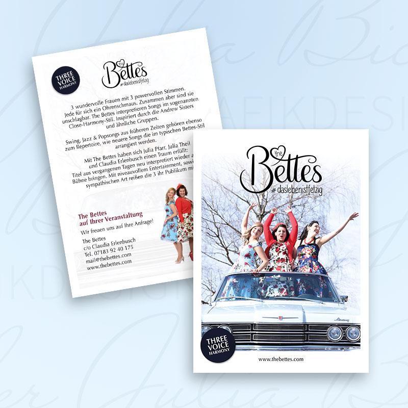 The Bettes Imageflyer Julia Bicheler Grafikdesign Waiblingen